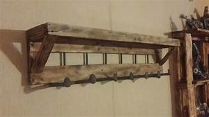 Pallet Coat Rack With Shelf • 1001 Pallets