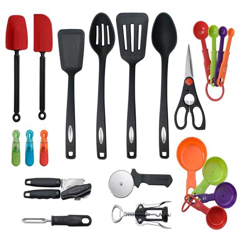 kitchen cooking accessories farberware tool and gadget set 22 pieces 5172753 the 3412