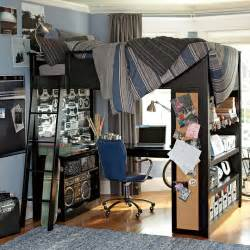 loft bedroom ideas bunk bed with workspace boys room interior design ideas
