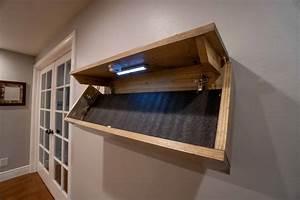 Hidden, Gun, Shelf
