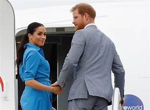 Prince Harry Suits Up as He and Meghan Markle Say Farewell ...