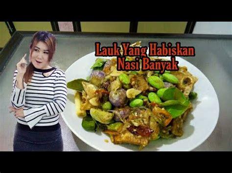 Ikan Asin Cabe Hijau Indonesian Food Paling Enak Youtube