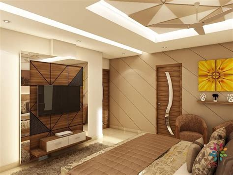 Bedroom Turned Tv Room by Luxurious Bedroom With Minimal Design Details Tv Unit In