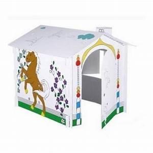 Cabane En Carton À Colorier : maison carton colorier transport theatre ~ Melissatoandfro.com Idées de Décoration