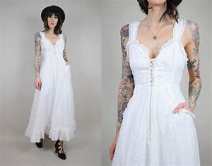 Vtg 7039s gunne sax saks fifth avenue eyelet summer wedding for Saks wedding dresses