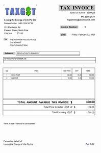 business invoice forms tax invoices and non tax invoice With specimen of invoice