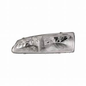 Headlight Left Driver Assembly Fits 1996