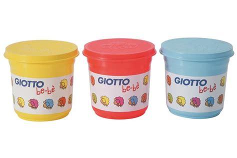 set 3 pot 200 g pate a modeler giotto bebe bleu jaune modelage lda papeteries