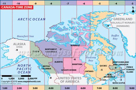 canada time zone map current local time canada