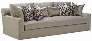 Nail head trim sofa gray fabric sofa with nailhead trim for Grey sectional sofa with nailhead trim
