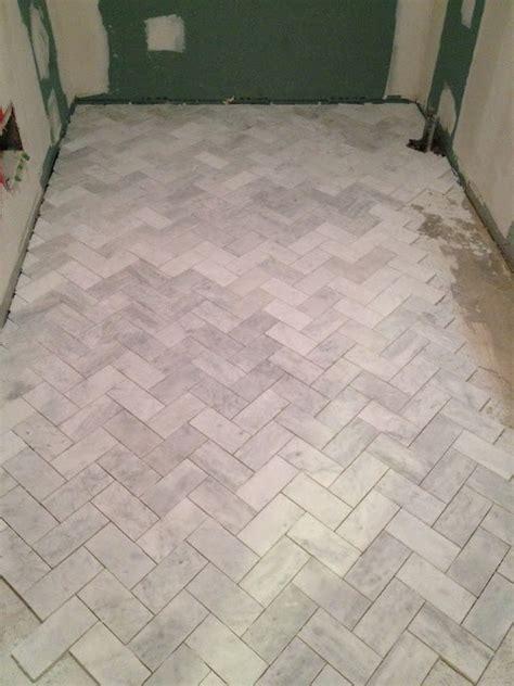 floor large subway floor tile in herringbone pattern