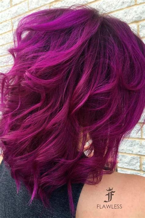 21 Loveliest Magenta Hair Color Ideas Theresa Magenta