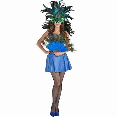 Peacock Costume Womens Accessory Kit Costumes Party