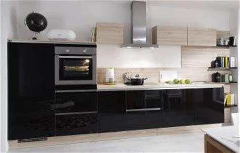 cuisine lineaire design cuisine intégrée choix de cuisines aménagées et équipées
