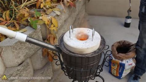 How To Recycle Scrap Metal In The Backyard By Building A