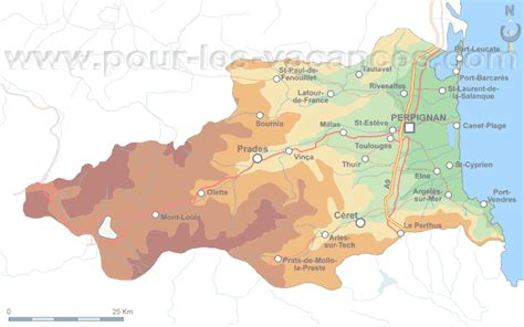 chambres d hotes languedoc roussillon pyrenees orientales villages vacances cing carte des