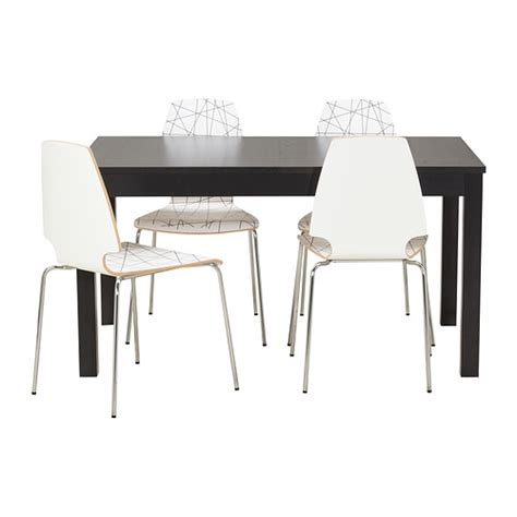 ikea kitchen table and chairs bjursta vilmar table and 4 chairs ikea