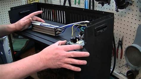 repair  heat surge fireplace youtube