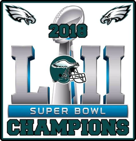 philadelphia eagles  super bowl champions vinyl decal