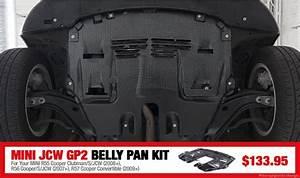 Ecs Tuning    Mini Jcw Gp 2 Belly Pan Kit