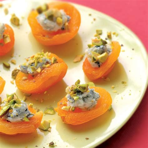 healthy canapes dinner apricot canapes recipe eatingwell