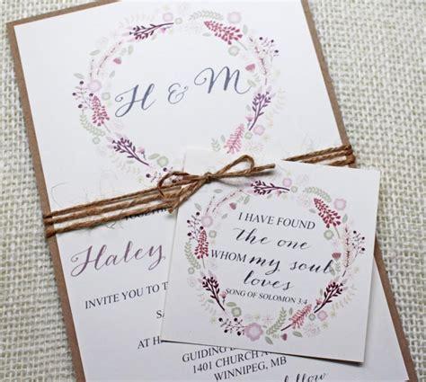 diy shabby chic wedding invitations floral wedding invitations shabby chic wedding invitations boho chic floral wedding