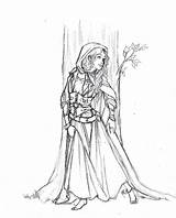 Medieval Coloring Pages Princess Gypsy Deviantart Adult Times Adults Drawing Sketches Drawings Colouring Romani Pagan Books Printable Sheets Dragon Popular sketch template