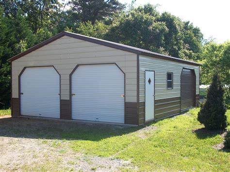 Garage Buildings by 22 X 36 X 10 Vertical Garage Choice Metal Buildings