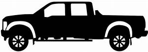 Pickup Truck Silhouette | Free vector silhouettes
