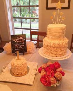 pink  gold star birthday cake twinkle twinkle