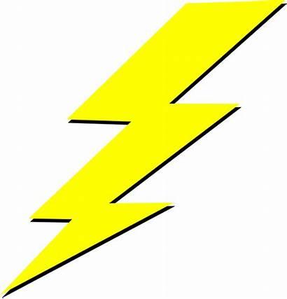 Lightning Clipart Yellow Bolt Transparent Lighting Symbol