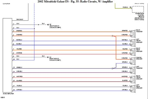 2006 Mitsubishi Eclipse Radio Wiring Diagram by Wiring Diagram For 2003 Mitsubishi Eclipse Powerking Co