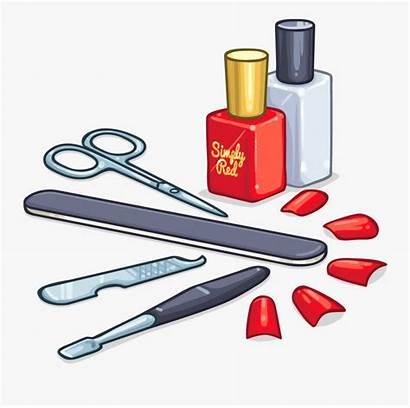 Nail Manicure Care Clipart Transparent Clip Tools