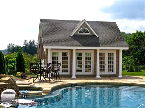 swoon worthy pool houses  daydream
