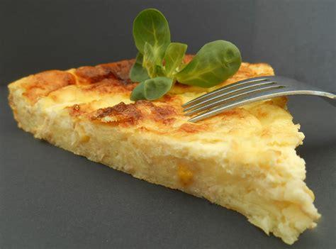 quiche sans p 226 te jambon fromage