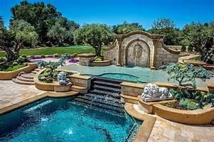 105 idees pour amenagement de piscine de jardin moderne With fontaine exterieure de jardin moderne 0 amenagement du jardin des idees originales pour l