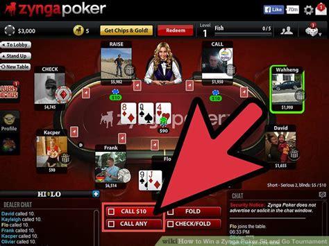 poker go sit win zynga tournament