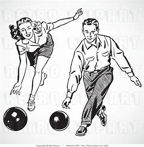 Bowling Clip Art Black and White – Cliparts