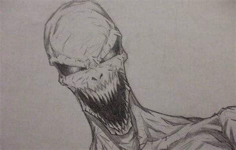scary drawings art ideas  premium templates