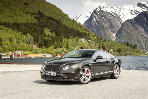 Record Breaking Bentley Continental Gt Speed In Action At
