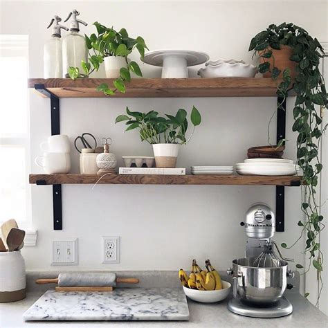 Kitchen Open Shelves Images by 10 Beautiful Open Kitchen Shelving Ideas