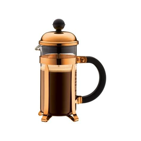 Buy Bodum Chambord 3 Cup 0.35L Coffee Press Cafetiere, Copper from our Cafetieres range   Tesco
