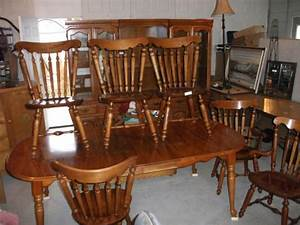 Solid Maple Krohler Dining Room Set In Great West