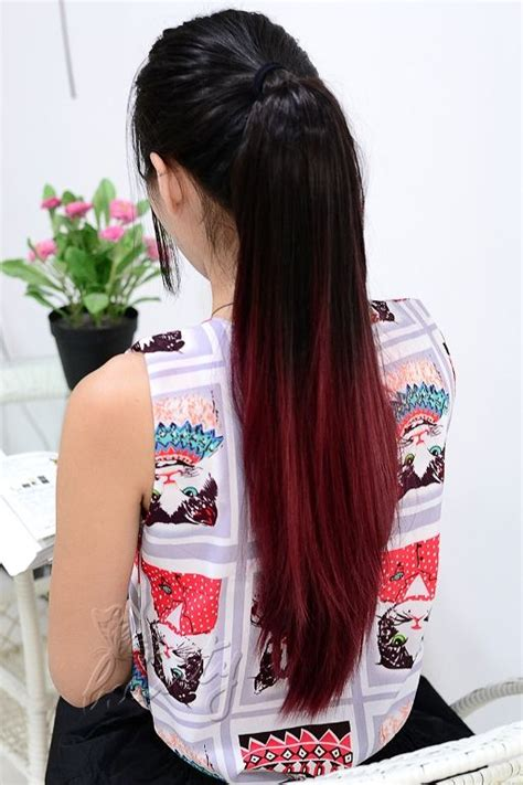 17 Best Ideas About Red Hair Extensions On Pinterest