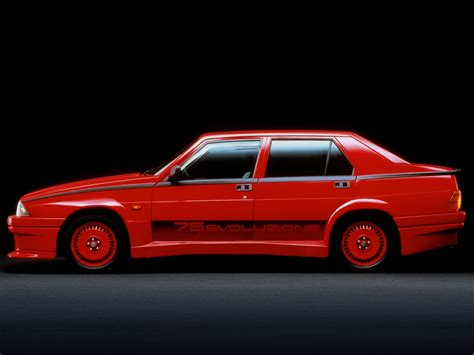 Alfa Romeo 75 Turbo, Alfa Romeo 75 18 Turbo Evoluzione