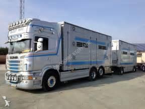 Autotreno Scania trasporto bestiame R 620 6x2 Gasolio Euro