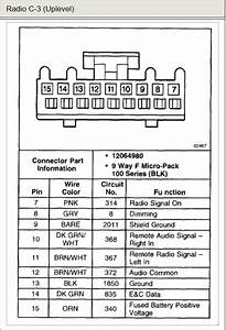 Wiring Diagram Database  2004 Chevy Impala Radio Wiring