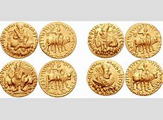 FileFour sets of Gold Coins of Vima Kadphisesjpg