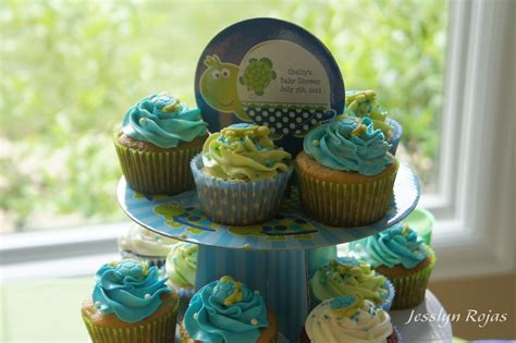 Turtles Baby Shower Theme by Turtle Theme Baby Shower Cupcakes Baby Boy Shower