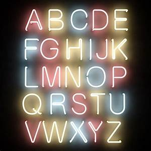 3dsmax neon tube alphabet letters With neon letters